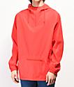 Zine Glo chaqueta anorak roja reflectante