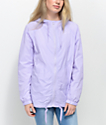 Zine Lenore chaqueta cortavientos en color lavanda