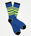 Zine Made Princess Blue Crew Socks
