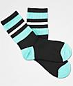 Zine Mania calcetines negros y azules para niños