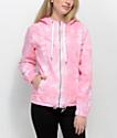 Zine Nina Candy Pink chaqueta con efecto tie dye