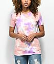 Zine Rayna Peach & Lavender Tie Dye T-Shirt
