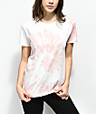 Zine Rayna Pink Swirl Tie Dye T-Shirt