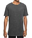 Zine Split Black Wash T-Shirt