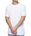 Zine Split White T-Shirt