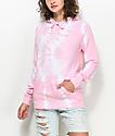 Zine Tera sudadera con capucha en rosa