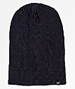 Zine Toque Black & Blue Slouch Beanie