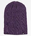 Zine Toque Purple Slouch Beanie
