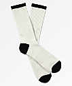 Zine White & Black Crew Socks
