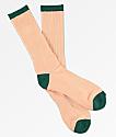 Zine calcetines de color alpino y melocotón