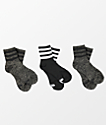 adidas 3 Pack Lurex Anklet Socks