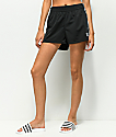 adidas 3 Stripe Black Shorts