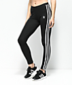 adidas 3 Stripe Leggings negros