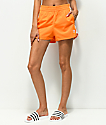 adidas 3 Stripe Orange Shorts