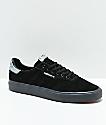 adidas 3MC zapatos negros y grises