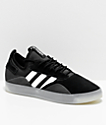 adidas 3ST.001 Black & Silver Metal Shoes