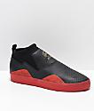 adidas 3ST.002 Nakel zapatos negros y rojos