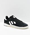 adidas 3ST.004 Black & White Shoes