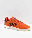 adidas 3ST.004 Orange & White Shoes