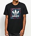 adidas Blackbird Palm Black T-Shirt