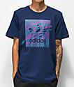 adidas Blackbird Tennis Tribe Purple & Blue T-Shirt