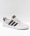 adidas Busenitz Vulc Crystal White & Black Shoes