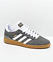 adidas Busentiz Cinder zapatos en gris, blanco y goma