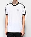 adidas California Blackbird White T-Shirt