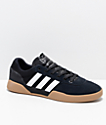 adidas City Cup Black, White & Gum Shoes