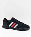 adidas City Cup Silvas zapatos negros, blancos y rojos
