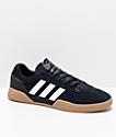 adidas City Cup zapatos en negro, blanco y goma