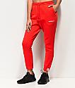 adidas Coeeze Red Jogger Sweatpants