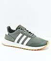 adidas Flashback Green & White Shoes