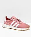adidas Flashback Raw Pink & White Shoes