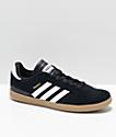 adidas Kids Busenitz Pro Black, White & Gum Skate Shoes