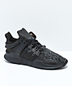 adidas Kids EQT Support ADV Black Shoes