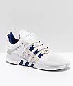 adidas Kids EQT Support ADV Cream & White Shoes