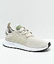 adidas Kids Xplorer Tan, Green & White Shoes
