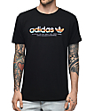 adidas Linear Black T-Shirt