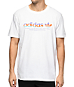 adidas Linear White T-Shirt