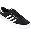 adidas Lucas Premiere ADV Black & White Suede Shoes