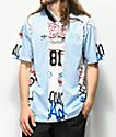 adidas Mark Gonzales Blue & White Jersey