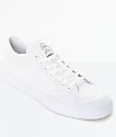 adidas Matchcourt zapatos de skate todos blancos