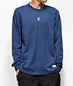 adidas Noble Indigo Mesh Long Sleeve Jersey