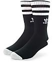 adidas Original Roller calcetines en negro y blanco