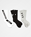 adidas Original Triple Brand 3 Pack Crew Socks