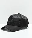adidas Original gorra de satén negra para mujeres