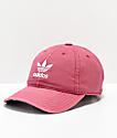 adidas Original gorra roja y blanca para mujeres