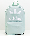 adidas Originals Big Logo Ash Green Backpack