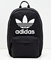 adidas Originals Big Logo mochila negra